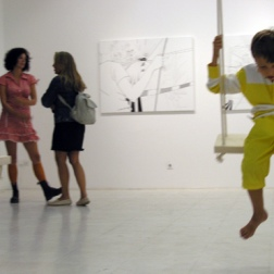 New Work, installation view, 2004