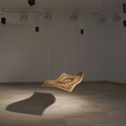 The Flying Carpet, installation view, 2005