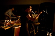 Individual Utopias, live performance, SKUC Gallery, 2008