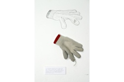 The Abandoned Glove, installation, 2005