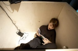 Travel in the Box II, 2009, performance view