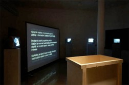 Travel in the Box II, 2009, installation view