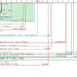 4.3 hectares, 2009, diagram sketch detail
