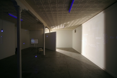 installation view / ...brighter than... / Good Children Gallery / photo by Rajko Radovanović