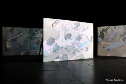Posing Process / 2012, installation view