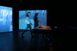 Posing Process / 2012, installation view