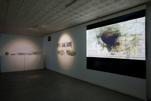 The Horizon Tries - installation view