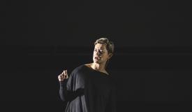EE-0 premiere and performace, Prizren 2018, Lala Rascic, photo: Elmedina Arapi